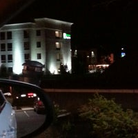 Photo taken at Holiday Inn Express Fishkill-Mid Hudson Valley by Suzie Q on 4/23/2013