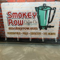 Photo taken at Smokey Row Coffee by Edgar Ortiz S. on 2/14/2013