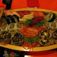 Photo taken at Ocean Sushi by Xhenis C. on 3/27/2013