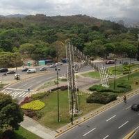 Photo taken at Plaza Venezuela by Abdielito G. on 3/13/2013