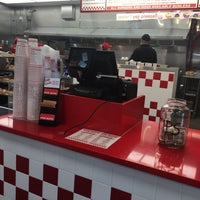 Photo taken at Five Guys by Chad B. on 4/22/2017