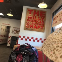 Photo taken at Five Guys by Chad B. on 5/11/2017