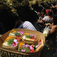 Photo taken at Pura Tirta Empul (Tirta Empul Temple) by Chloé B. on 5/5/2013