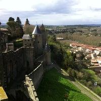 Photo taken at Château Comtal de la Cité de Carcassonne by Cristina V. on 3/30/2013