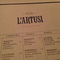 Photo taken at L'Artusi by Josh M. on 3/14/2013