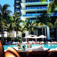 Photo taken at W South Beach by Anika D. on 5/10/2013