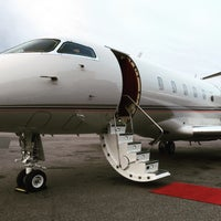 Photo taken at Skycharter FBO Pearson International Airport Toronto by Jo F. on 11/13/2015