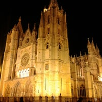 Photo taken at León Cathedral by David M. on 2/23/2013