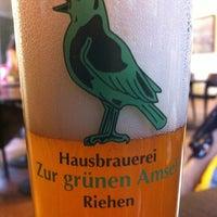 Photo taken at Bistro Reithalle im Wenkenpark by Μάρκο (. on 10/14/2012