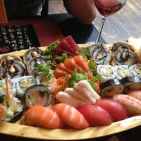 Photo taken at Ocean Sushi by Josephine D. on 5/12/2013