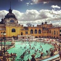 Photo taken at Széchenyi Thermal Bath by Gustav H. on 4/13/2013