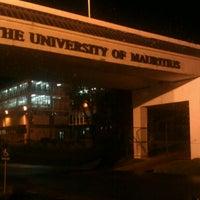 Photo taken at University of Mauritius by Nusayha J. on 4/3/2013