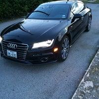 Photo taken at Audi North Houston by Sam W. on 9/15/2014