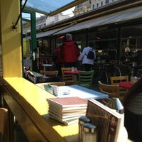 Photo taken at Naschmarkt Deli by Nicolas E. on 10/11/2012
