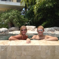 Photo taken at Poolside Ocean Cay by Christa K. on 9/1/2013