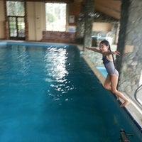 Photo taken at Diapolis Pool by Zehra E. on 1/18/2014