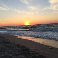 Photo taken at Beach by Tanya N. on 8/24/2014