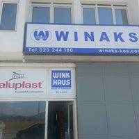 Photo taken at WİNAKS by Edis Ş. on 8/29/2013