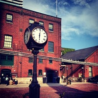 Photo taken at Historic Distillery District by Aaron J. on 5/31/2013