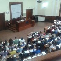 Photo taken at Pravni fakultet by Tamara O. on 5/18/2013