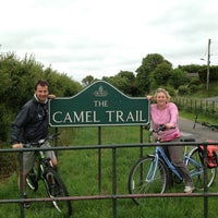 Photo taken at The Camel Trail by Steve R. on 6/23/2013