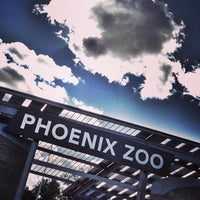 Photo taken at Phoenix Zoo by Pete C. on 2/9/2013