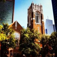 Photo taken at First United Methodist Church by Amanda W. on 3/24/2013