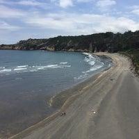Photo taken at Playa de Barayo by Luis C. on 7/27/2016