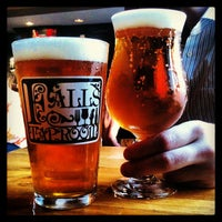 Photo taken at Falls Taproom by Margo K. on 4/9/2013