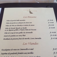 Photo taken at Restaurant du Port de Pully by Natalie S. on 6/24/2015