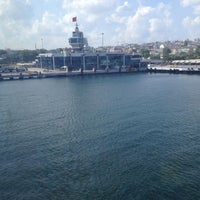 Photo taken at İDO Yenikapı İskelesi by Ayşe A. on 7/27/2013