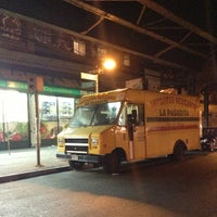 Photo taken at La Pasadita Taco Truck by Weed Dude on 6/29/2013