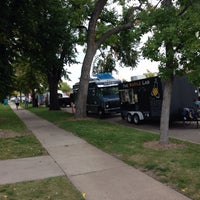 Photo taken at Fort Collins Food Truck Rally by Aaron H. on 10/3/2013