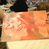 Photo taken at La Gelateria 4D by Petra R. on 7/13/2013