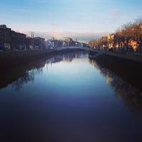 Photo taken at The Ha'penny (Liffey) Bridge by Jeff B. on 1/4/2013