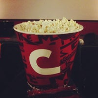 Photo taken at Cinemark by Marcos T. on 4/26/2013