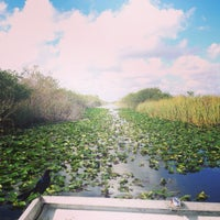 Photo taken at Airboat In Everglades by Karina E. on 11/17/2014
