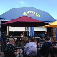 Photo taken at Backyard Grill & Bar by Ron H. on 6/20/2013