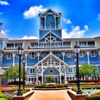 Photo taken at Disney's Beach Club Resort by Jarrett P. on 8/30/2013