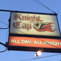 Photo taken at Knight Cap Bar & Lounge by Laura M. on 6/26/2014