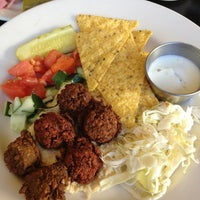 Photo taken at Foxy Falafel by Laura M. on 1/6/2013