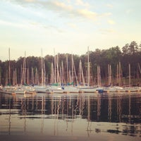 Photo taken at Augusta Sailing Club by Robert D. on 5/10/2013