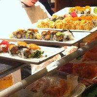 Photo taken at Sakura Japanese Steak House by LindsayB on 2/24/2013