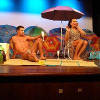 Photo taken at Teatro Nossa Senhora das Dores by Pablo C. on 11/30/2015