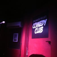 Photo taken at Greenwich Village Comedy Club by Harper V. on 9/26/2013