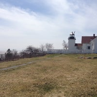 Photo taken at Fort Point Light by Krysten S. on 4/18/2014