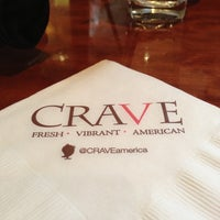 Photo taken at CRAVE American Kitchen & Sushi Bar by Trev M. on 4/21/2013