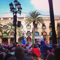Foto tomada en Plaça de la Vila por Laura S. el 2/10/2013