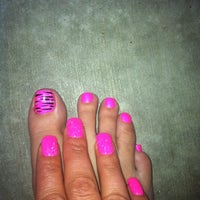 Photo taken at Tracy's Nail & Spa by Jenipher P. on 8/18/2013