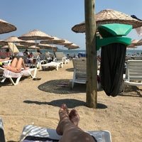 Photo taken at Urla Beach Clup by Gamze A. on 8/22/2018